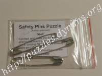 Safety pins puzzle