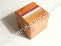2 Sun 4 Step Natural Wood Cubic