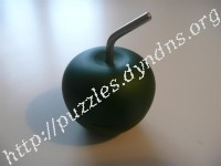 Metal Apple Puzzle