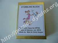 Stumbling Block Puzzle